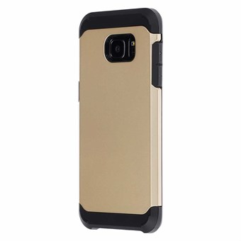 Image of   Hard case silicone/plastik Samsung Galaxy S7 Edge guld