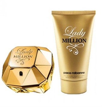 Image of   Lady Million by Paco Rabanne - Eau De Parfum Spray 80ml Natural spray 80 ml- til kvinder