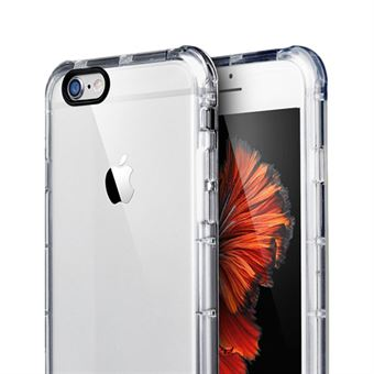 Crystal Shockproof silikone cover til iPhone 6   iPhone 6S - Transparent 7ca2883813a94