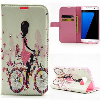 Image of   Fashion Galaxy S7 Edge etui cycling