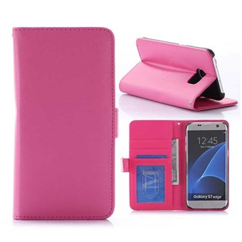 Image of   Klassisk surface case S7 Edge magenta