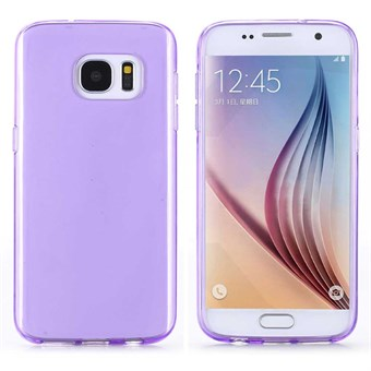 Image of   Ultra Silikone Cover til Galaxy S7 - Lilla