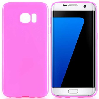 Image of   Klassisk silikone cover Galaxy S7 (rose red)