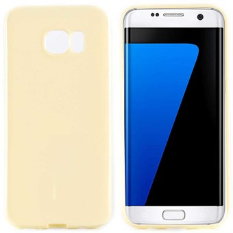 Image of   Klassisk silikone cover Galaxy S7 (light gul)
