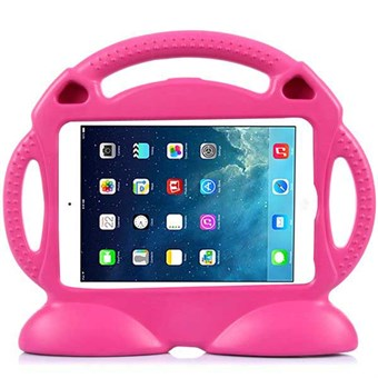 Image of   Shockproof smiley face iPad Air 1 (magenta)