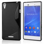 S-line Silikone Cover til Xperia T3 (sort)