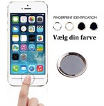Touch id button Hvid / Sølv