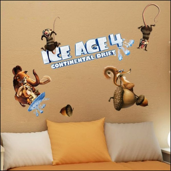 Wall Stickers - Ice Age 4