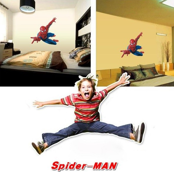 Wall Stickers - Spiderman