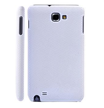 Image of   Galaxy Note Net Cover med små huller (Hvid)