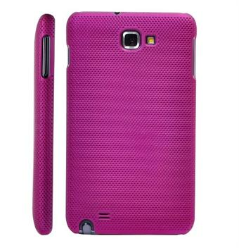 Image of   Galaxy Note Net Cover med små huller (Magenta)