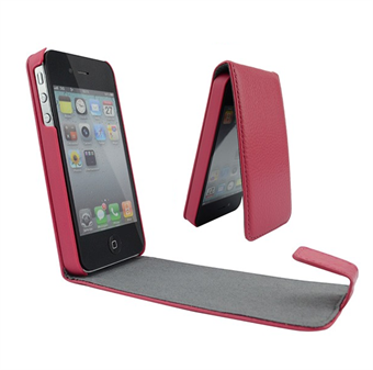 Image of   iPhone 4/4S Flap Etui (Magenta)