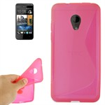 S-Line Silikone Cover Desire 700 (Pink)