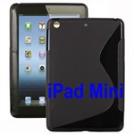 S-Line iPad mini Silikone Cover (Sort)