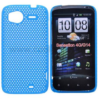 Net Cover til HTC Sensation (Baby Blue)