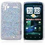 Skinnende Hard Case for HTC Sensation G14 (S�lv)