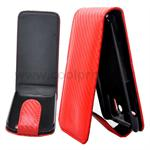 Carbon etui til HTC Sensation G14 (R�d)