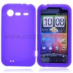 HTC Incredible S Silicone Cover (Lilla)