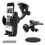 American Arkon® Windshield 3in1 Cellphone Grip