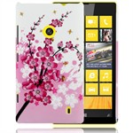 Motiv Plastik Cover Lumia 520 (Flower)