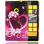 Motiv Plastik Cover Lumia 520 (Love)