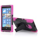Defender Case Lumia 920 med Stand (Pink)
