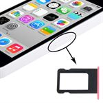 Nano sim kort holder iPhone 5C (Rød)