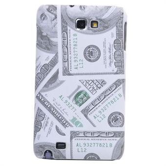 Image of   100 Dollar til Galaxy Note (Hvid)