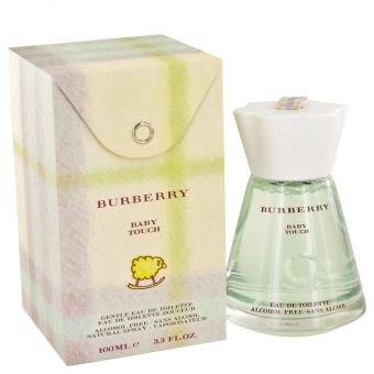 Image of   Burberry Baby Touch by Burberry - Alcohol Free Eau De Toilette Spray 100 ml - til kvinder