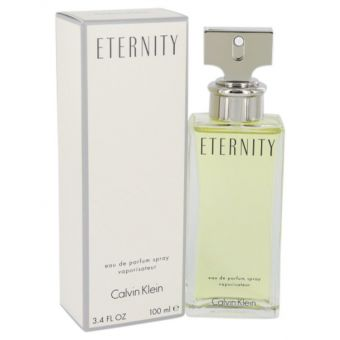 Image of   ETERNITY by Calvin Klein - Eau De Parfum Spray 100 ml - til kvinder