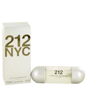 Image of   212 by Carolina Herrera - Eau De Toilette Spray (New Packaging) 30 ml - til kvinder