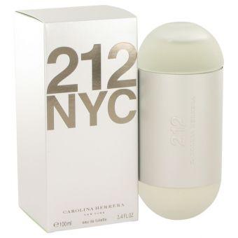 Image of   212 by Carolina Herrera - Eau De Toilette Spray (New Packaging) 100 ml - til kvinder