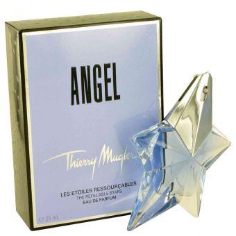 Image of   ANGEL by Thierry Mugler - Eau De Parfum Spray Refillable .24 ml - til kvinder