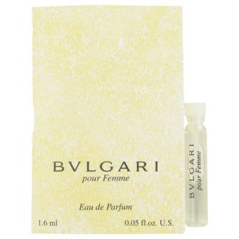 Image of   BVLGARI (Bulgari) by Bvlgari - Vial (sample) .1 ml - til kvinder