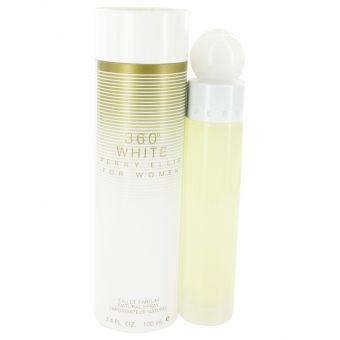 Image of   Perry Ellis 360 White by Perry Ellis - Eau De Parfum Spray 100 ml - til kvinder