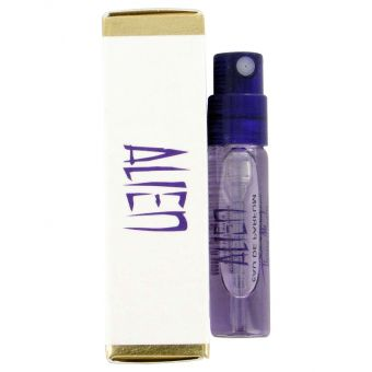 Image of   Alien by Thierry Mugler - Vial EDP Spray (sampleBox) .1 ml - til kvinder