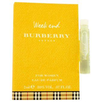 Image of   WEEKEND by Burberry - Vial (sample) .2 ml - til kvinder