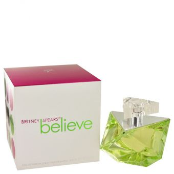 Image of   Believe by Britney Spears - Eau De Parfum Spray 100 ml - til kvinder