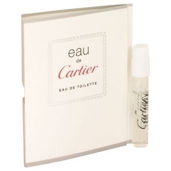 Image of   EAU DE CARTIER by Cartier - Vial (sample) .1 ml - til kvinder