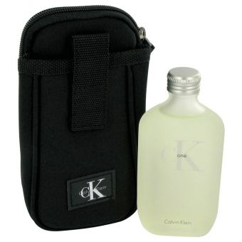 Image of   CK ONE by Calvin Klein - Gift Set Eau De Toilette Spray + Toiletry Bag - til kvinder