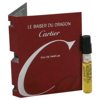 Image of   Le Baiser Du Dragon by Cartier - Vial (sample) .1 ml - til kvinder