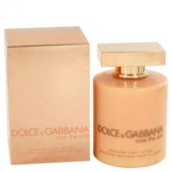 Image of   Rose The One by Dolce & Gabbana - Body Lotion 200ml - til kvinder