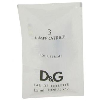 Image of   L'Imperatrice 3 by Dolce & Gabbana - Vial (sample) .1 ml - til kvinder