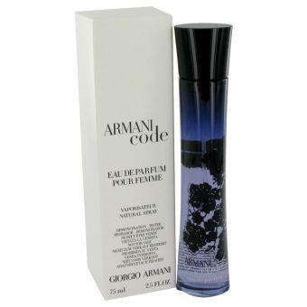 Image of   Armani Code by Giorgio Armani - Eau De Parfum Spray (Tester) 75 ml - til kvinder