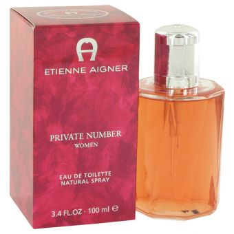 Image of   Private Number by Etienne Aigner - Eau De Toilette Spray 100 ml - til kvinder