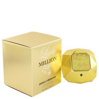Image of   Lady Million by Paco Rabanne - Eau De Parfum Spray 80 ml - til kvinder
