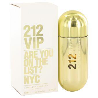 Image of   212 Vip by Carolina Herrera - Eau De Parfum Spray 80 ml - til kvinder