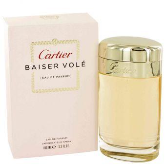 Image of   Baiser Vole by Cartier - Eau De Parfum Spray 100 ml - til kvinder