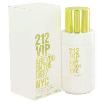Image of   212 Vip by Carolina Herrera - Body Lotion 200 ml - til kvinder