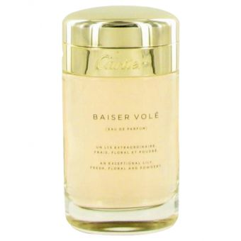 Image of   Baiser Vole by Cartier - Eau De Parfum Spray (Tester) 100 ml - til kvinder